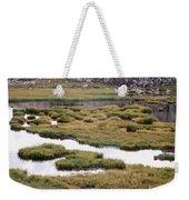 Titcomb Basin Marsh Weekender Tote Bag