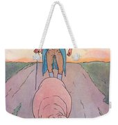 To Market To Market Weekender Tote Bag by Leonard Leslie Brooke