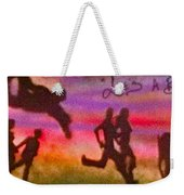 Venice Beach To Santa Monica Weekender Tote Bag