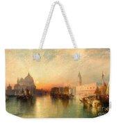 View Of Venice Weekender Tote Bag by Thomas Moran
