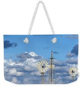 Water Windmills Weekender Tote Bag by Stelios Kleanthous