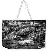 Waterfall Great Smoky Mountains Painted Bw    Weekender Tote Bag