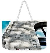 Way The Wind Blows - Four Season Hotel Budapest Hungary Weekender Tote Bag