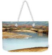Wetlands Of Scott Creek Weekender Tote Bag