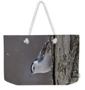 White-breasted Nuthatch Pictures 27 Weekender Tote Bag