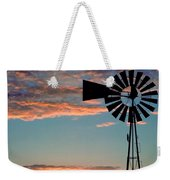 Windmill At Dawn Weekender Tote Bag