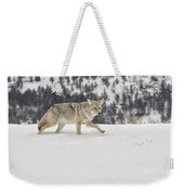 Winter's Determination Weekender Tote Bag