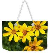 Yellow Texas Wildflowers Weekender Tote Bag