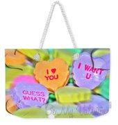 0004 Valentine Series Weekender Tote Bag
