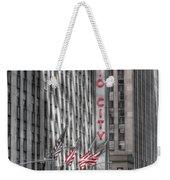 0007 Radio City Music Hall Weekender Tote Bag