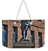 001 American Doughboy Over The Top To Victory Weekender Tote Bag