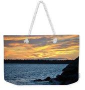 001 Awe In One Sunset Series At Erie Basin Marina Weekender Tote Bag