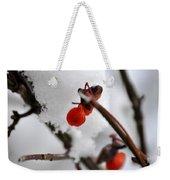 001 Frozen Berries Weekender Tote Bag