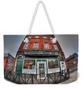 001 Mulligans Brick Bar Weekender Tote Bag