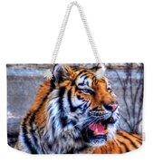 001 Siberian Tiger  Weekender Tote Bag