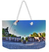 001 We Will Not Forget At The Erie Basin Marina Weekender Tote Bag