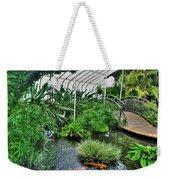001 Within The Rain Forest Buffalo Botanical Gardens Series Weekender Tote Bag
