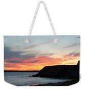 0010 Awe In One Sunset Series At Erie Basin Marina Weekender Tote Bag