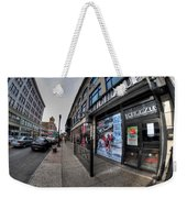 0010 Bottoms Up And The Chip Strip Weekender Tote Bag