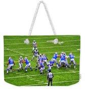 0010 Buffalo Bills Vs Jets 30dec12 Weekender Tote Bag