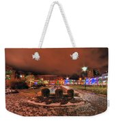 0010 Christmas Light Show At Roswell Series Weekender Tote Bag