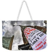 0010 Do Not Stand Weekender Tote Bag