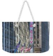 0010 Radio City Music Hall Weekender Tote Bag