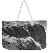 0010a Niagara Falls Winter Wonderland Series Weekender Tote Bag