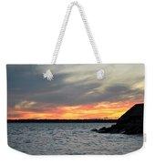 0011 Awe In One Sunset Series At Erie Basin Marina Weekender Tote Bag