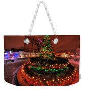 0011 Christmas Light Show At Roswell Series Weekender Tote Bag