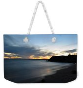 0012 Awe In One Sunset Series At Erie Basin Marina Weekender Tote Bag
