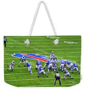 0013 Buffalo Bills Vs Jets 30dec12 Weekender Tote Bag