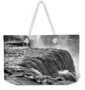 0013a Niagara Falls Winter Wonderland Series Weekender Tote Bag
