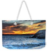 0015 Awe In One Sunset Series At Erie Basin Marina Weekender Tote Bag