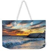 0016 Awe In One Sunset Series At Erie Basin Marina Weekender Tote Bag