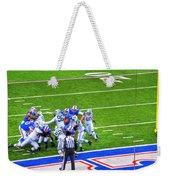 0016  Buffalo Bills Vs Jets 30dec12 Weekender Tote Bag