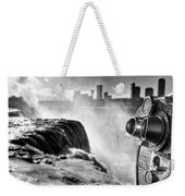 0016a Niagara Falls Winter Wonderland Series Weekender Tote Bag