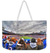 0017 Buffalo Bills Vs Jets 30dec12 Weekender Tote Bag