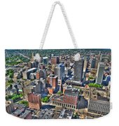 0017 Visual Highs Of The Queen City Weekender Tote Bag