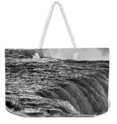 0017a Niagara Falls Winter Wonderland Series Weekender Tote Bag