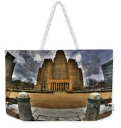 0019 City Hall From Within The Square Weekender Tote Bag