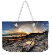 002 After The Ice Melts Erie Basin Marina Series Weekender Tote Bag
