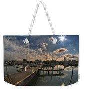 002 Erie Basin Marina D Dock Weekender Tote Bag