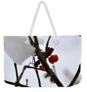 002 Frozen Berries Weekender Tote Bag