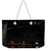 002 Japanese Garden Autumn Nights Weekender Tote Bag