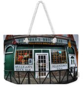 002 Mulligans Brick Bar Weekender Tote Bag