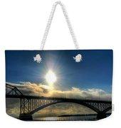002 Peace Bridge In Passing  Weekender Tote Bag