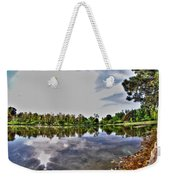 002 Reflecting At Forest Lawn Weekender Tote Bag