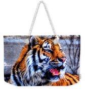 002 Siberian Tiger Weekender Tote Bag