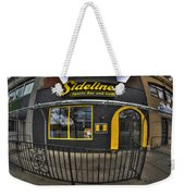 002 Sidelines Sports Bar And Grill Weekender Tote Bag